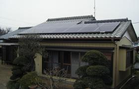 事例3.切妻屋根・瓦葺き