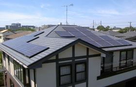 事例14.寄棟屋根(複合)・スレート葺き